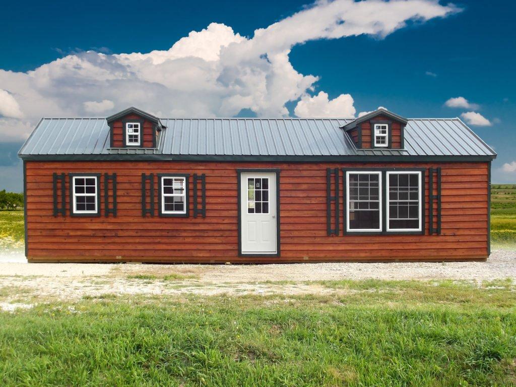 16 X 40 Ozark Cabin Sunrise Buildings