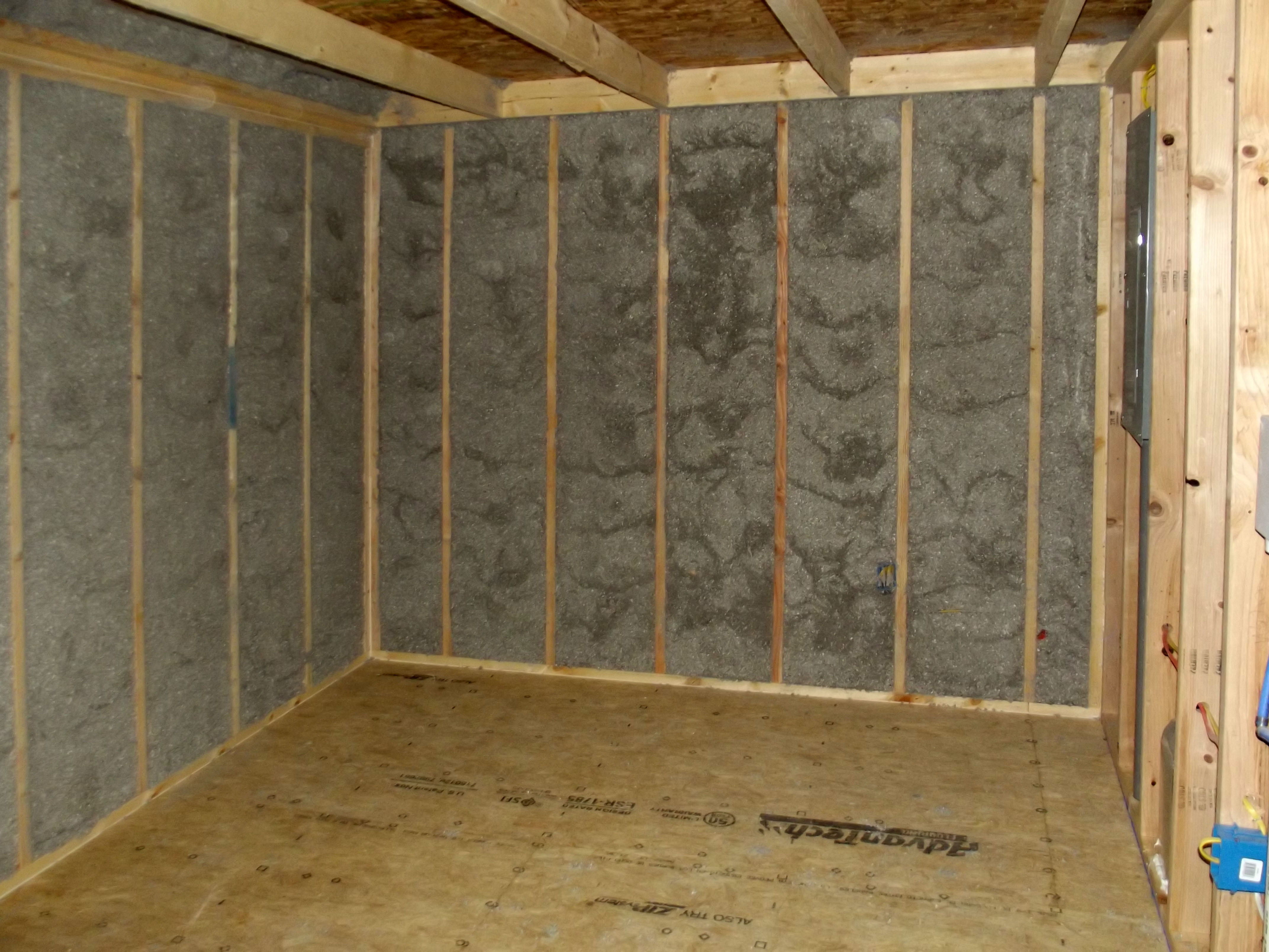 Interior Walls Insulated