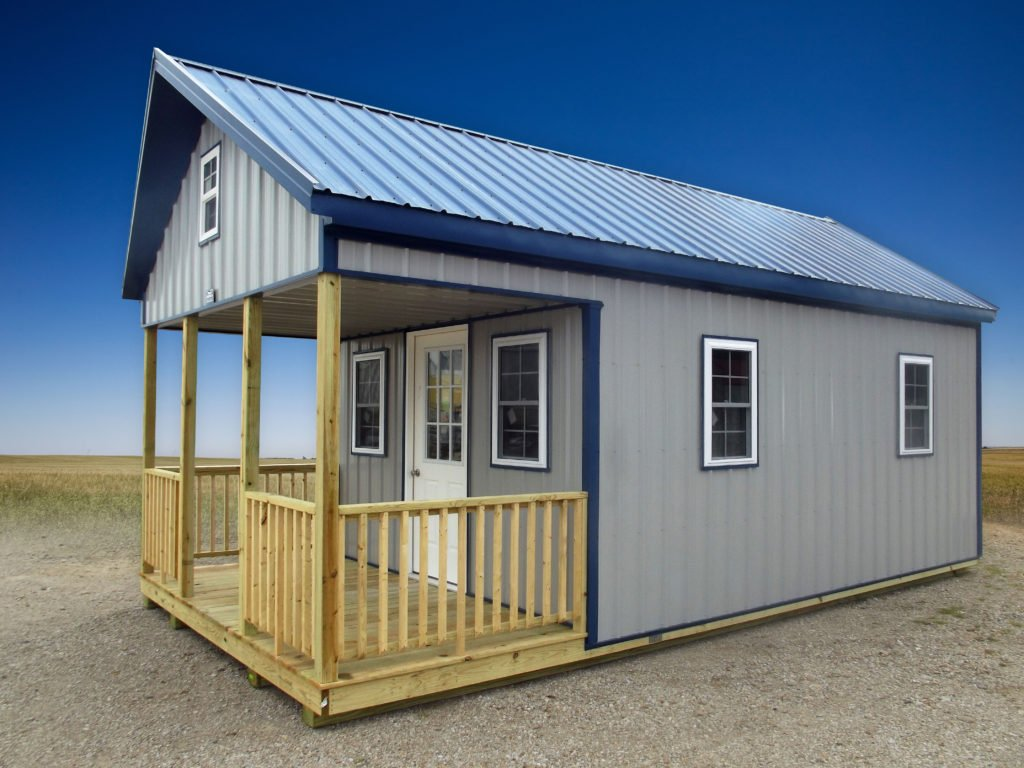 We Recently Delivered A 12 Ft X 24 Ft Adirondack Cabin
