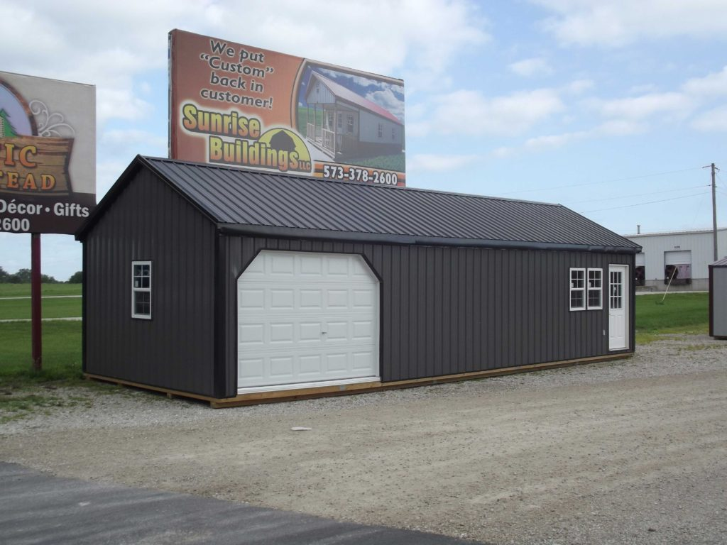 Sold pre owned shed call to order a new one sunrise for Garage cabin
