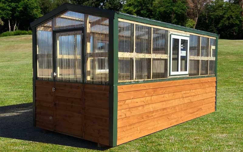 Portable Greenhouse - Sunrise Buildings