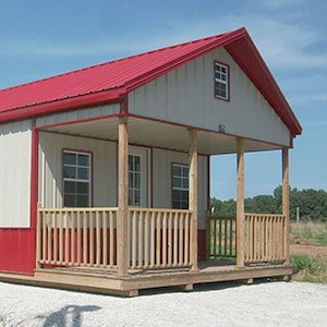 Beautiful Shed Buildings & Cabins at Sunrise Buildings in Missouri
