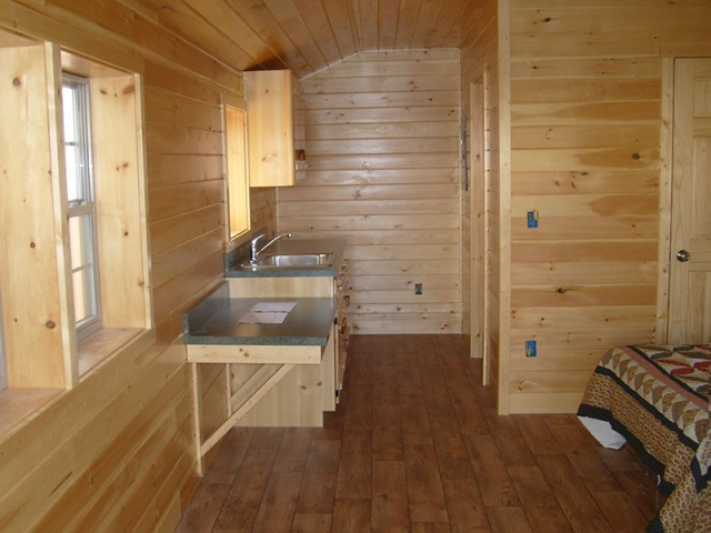 Deluxe Cabin Interior