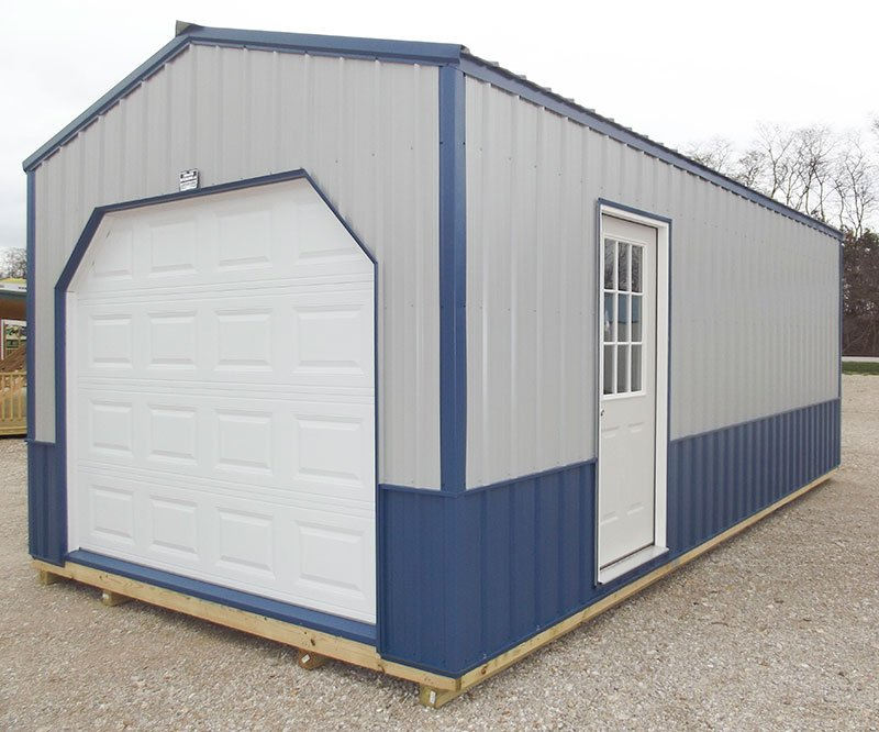 how to build a portable garage